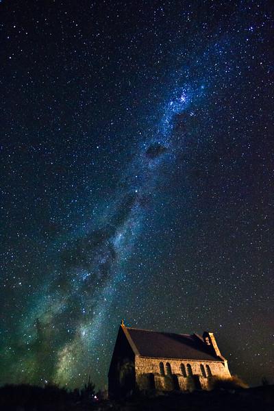 Milky Strewn Across the Sky