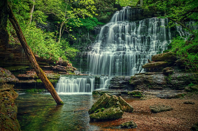'Machine Falls' ~ Short Springs State Natural Area, TN
