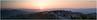 as the sun rises over Perugia
