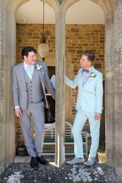 Same sex Wedding at Fawsley Hall