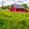 Grassy Pasture & Outbuilding