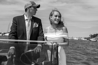 Out for a boat ride just north of Northport for a wedding portrait session. 08-26-2020