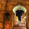 "<h2>The Keyhole to the Old City</h2> This is the second photo I have posted from Montpellier.  I have a lot more to process... it's a beautiful town!  We were staying with a very nice older couple and had spent the evening in the city.  Before leaving, we were not quite sure how to get back to their home.  After asking, we got one of those very quick but complex set of directions.  They are the sort of directions people give when they have lived somewhere their entire life...  They mention landmarks that they are quite sure we have already seen and give dire warnings about going down the wrong fork in, oh, you know the place....so on and so forth... and then we were thrust out into the cruel city... not really having any sure way of finding our way home...  but, I figured, as long as we were lost, we would take photos along the way.  That is when I saw this...  - Trey Ratcliff  Read more <a href=""http://www.stuckincustoms.com/2011/06/21/the-keyhole-to-the-old-city/"" rel=""nofollow"">here</a> at the Stuck in Customs blog."