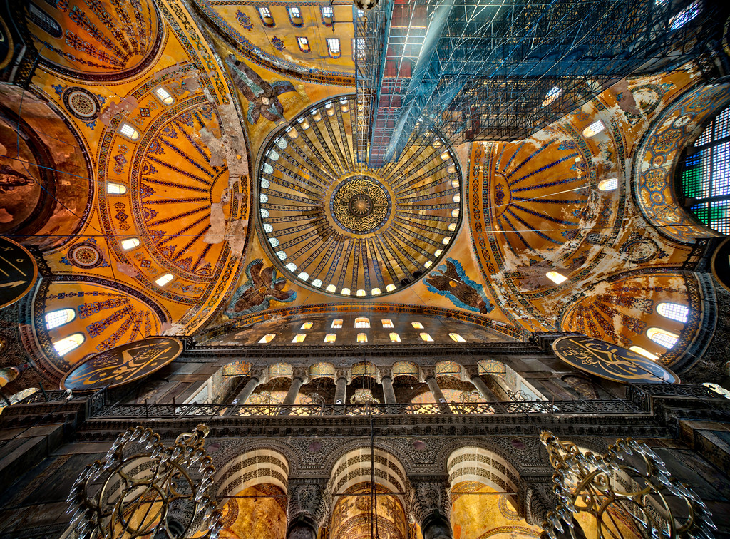 Repairing the Hagia Sophia