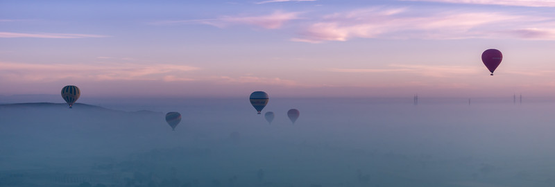 Over the mist