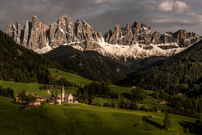 The beautiful Val di Funes