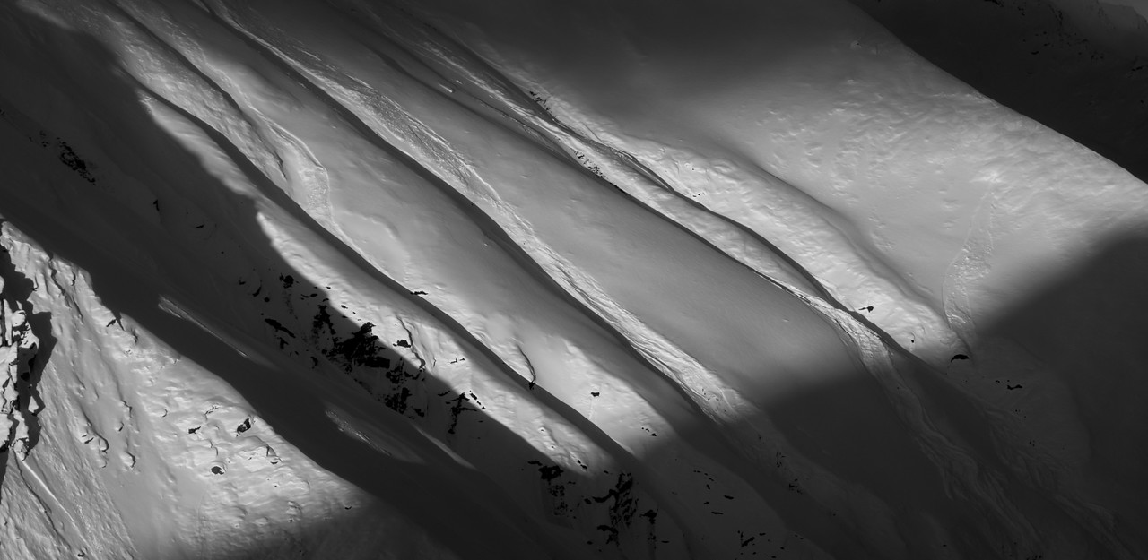 Abstract Snowscape