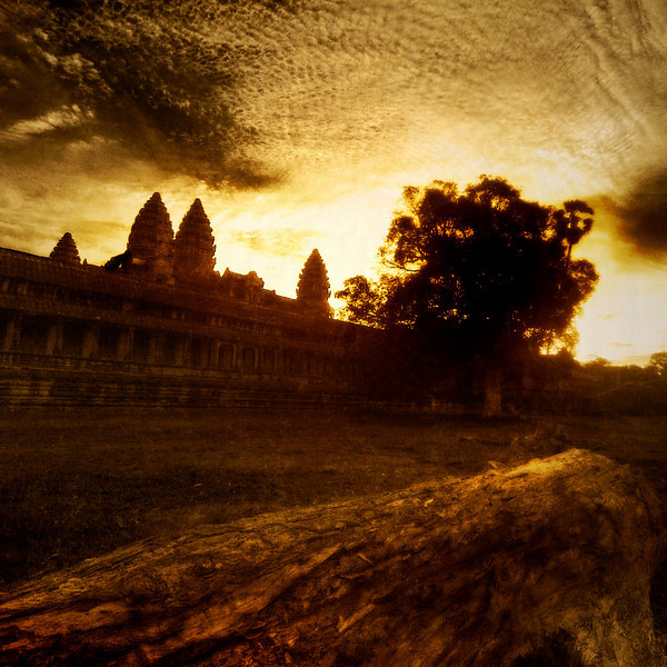 """<h2>Burning Through the Clouds - Angkor Wat in the Morning</h2> <br/>Morning at Angkor Wat was a very cool experience. It was very muggy — the kind of muggy that makes you just give up and give in to being covered in sweat. I wasn't going to any dinner parties, so I figured it was okay. Moving around the complex to get photos from many perspectives was a lot of fun… this place was a treat to compose.<br/><br/>- Trey Ratcliff<br/><br/><a href=""""http://www.stuckincustoms.com/2009/08/12/burning-through-the-clouds-angkor-wat-in-the-morning/"""" rel=""""nofollow"""">Click here to read the rest of this post at the Stuck in Customs blog.</a>"""