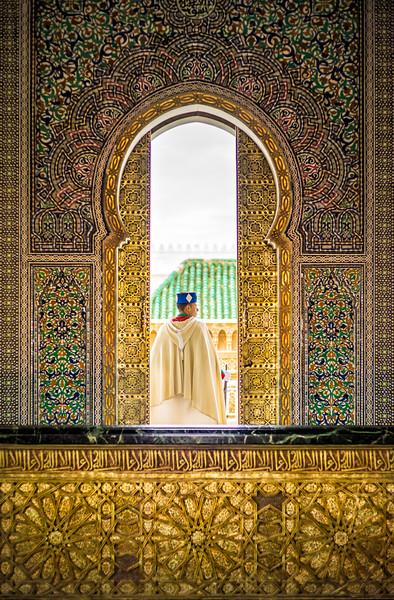 A Tomb Guard in Rabat