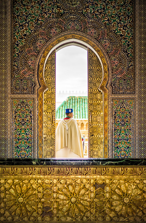 A Tomb Guard in Rabat