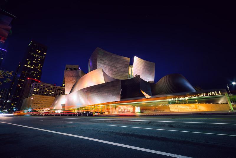 Walt Disney Concert Hall Lights