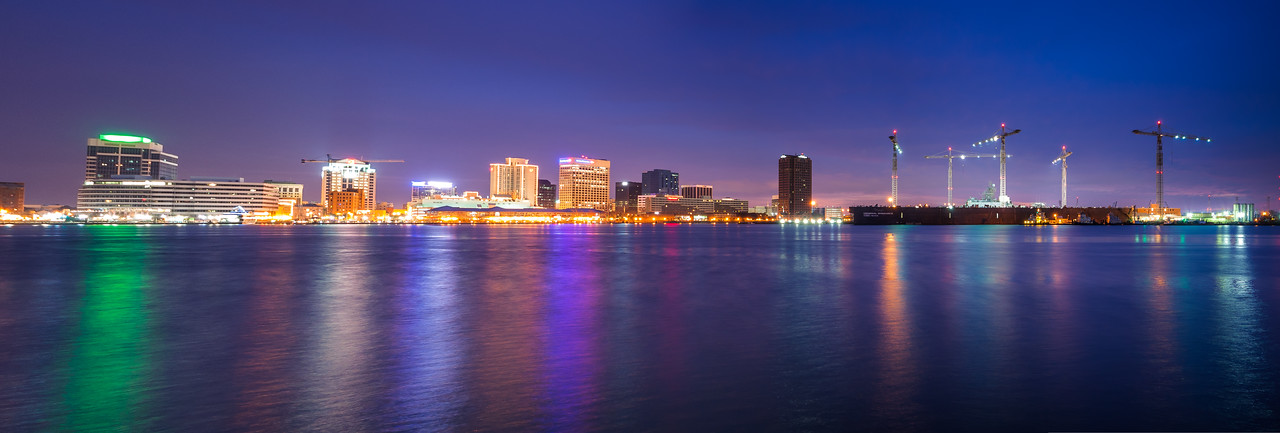 Norfolk Skyline