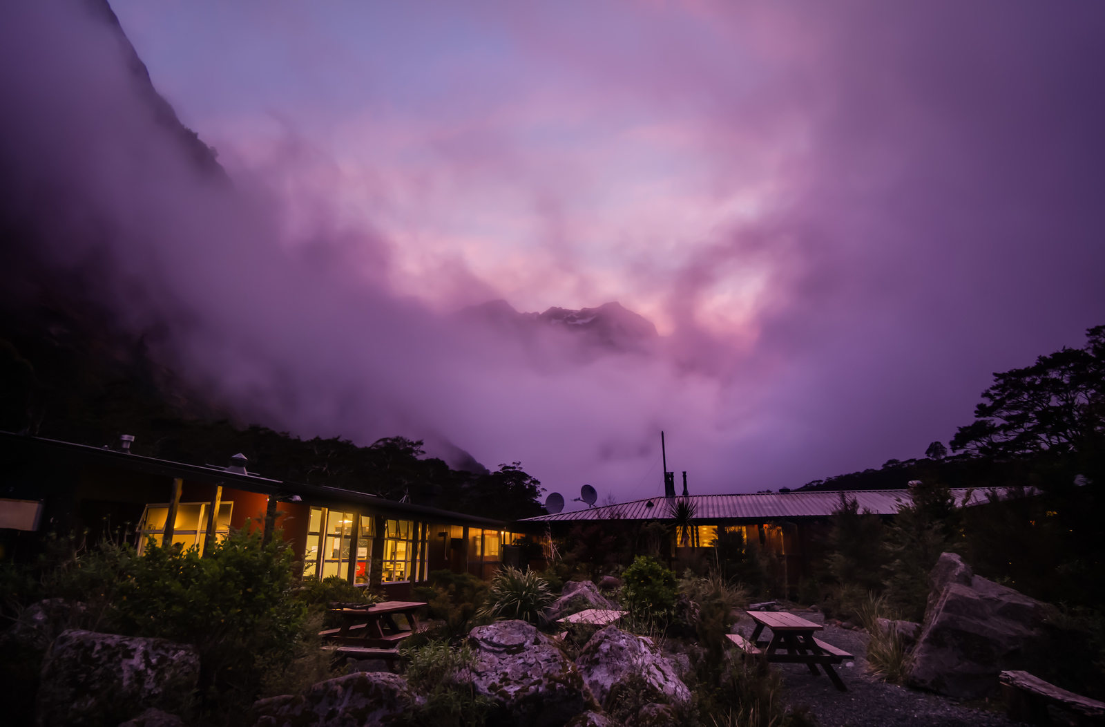 The Lodge at Milford Sound