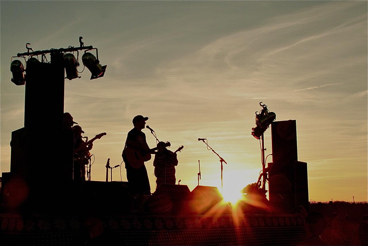 Stage Sun Set