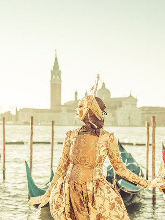 Posing In Venice