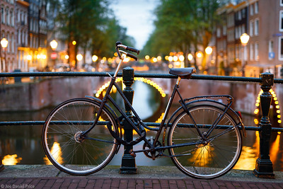 Bokeh Bicycle, Amsterdam, Holland