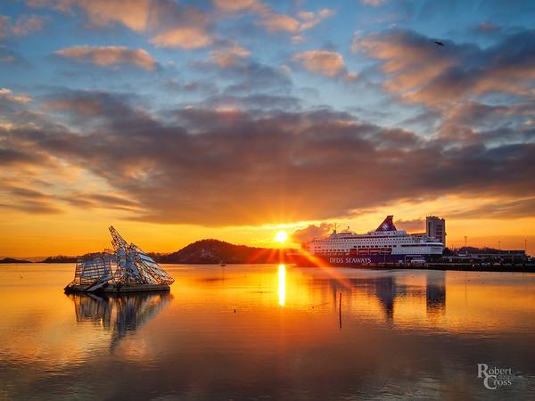 Oslo Opera Sunset