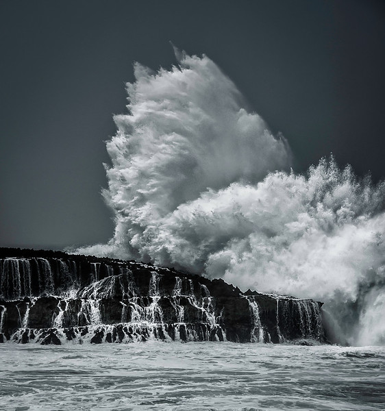 "<h2>The Exploding Wave</h2> <br/>Oahu had a peaceful coast where the waves would silently roll up on the beach and other, violent areas where the water would smash against cliffs and rocks. I'll let you guess which of those is happening here! <br/><br/>- Trey Ratcliff<br/><br/><a href=""http://www.stuckincustoms.com/2012/09/21/the-exploding-wave/"" rel=""nofollow"">Click here to read the rest of this post at the Stuck in Customs blog.</a>"