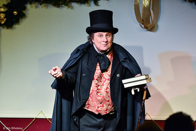 Phil Soinski as Charles Dickens