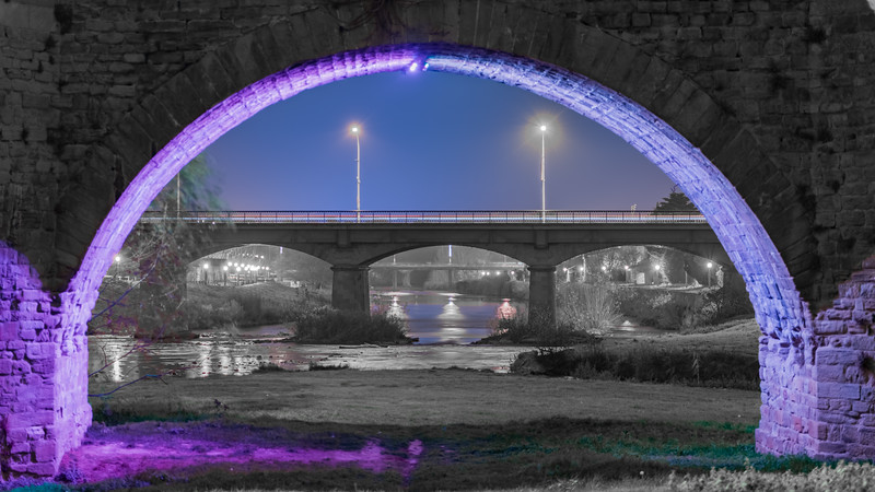 Les ponts de l'Aude