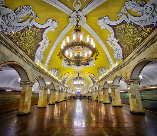 Subway Stations Of Moscow