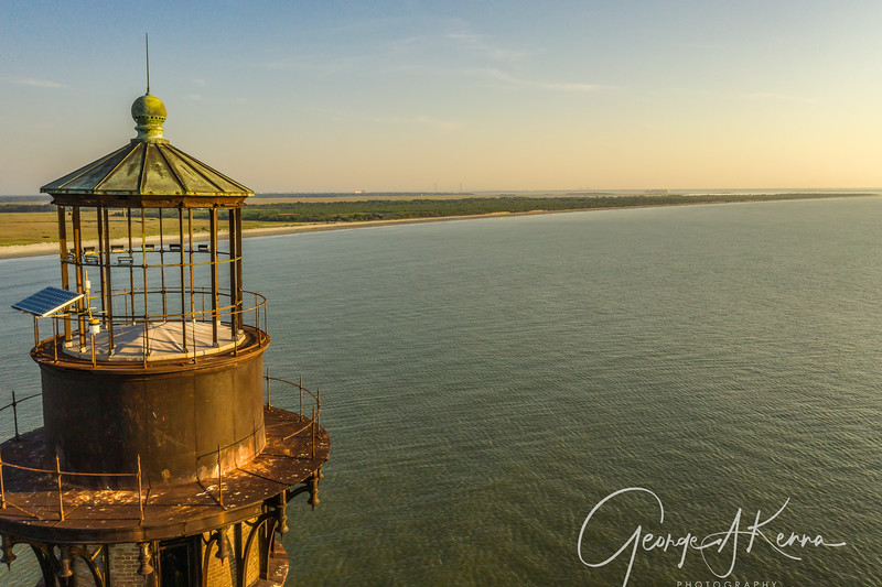 Morris Island Lighthouse, Folly Beach, SC