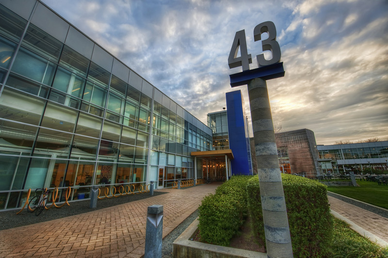 "<h2>Building 43 at Google</h2> <br/>Wow I had a great time at Google!  The guys and gals there I met were very nice and cool...  After my Authors@Google talk, I stayed around for a while to take photos while waiting on the workshop to begin.  There are sensitive areas of Google, of course, and I didn't even try to take pictures of any of that stuff...  Building 43 is the central building of the whole Googleplex.  It houses the offices of Marissa Mayer (who did not show up for my talk *ahem*), Larry Page, and Sergey Brin.  I wanted to pop into their offices and make unique photos of their offices for fun, but I did not want to ask on my first visit.  Wouldn't that be one of the most interesting things in the world?  To see the offices of all these people?  They don't have to be awesome and all James-Bondy -- even something mundane would be interesting, if captured in the right way.  But I do picture Sergey stroking a white cat...<br/><br/>- Trey Ratcliff<br/><br/><a href=""http://www.stuckincustoms.com/2010/02/16/building-43-at-google/"" rel=""nofollow"">Click here to read the rest of this post at the Stuck in Customs blog.</a>"