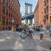 Manhattan Bridge Street Scene