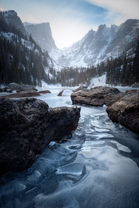 Winter Glass || Dream Lake