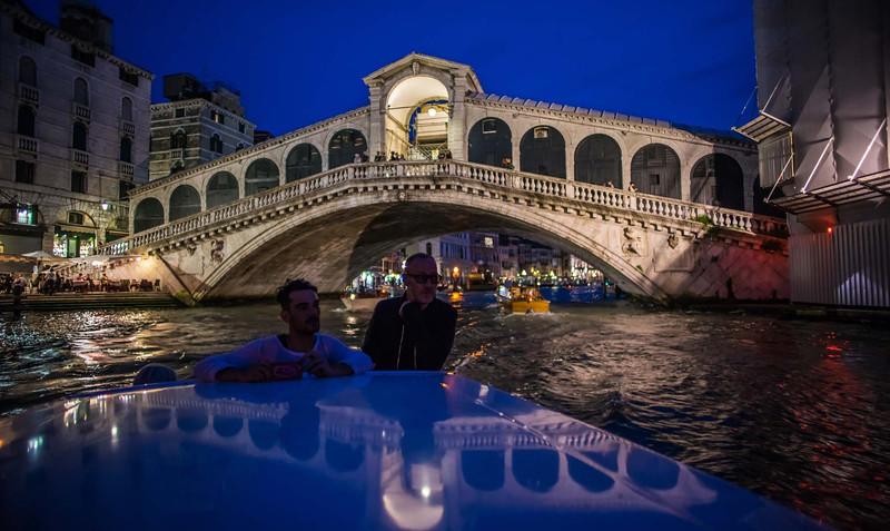 Boating Around Venice