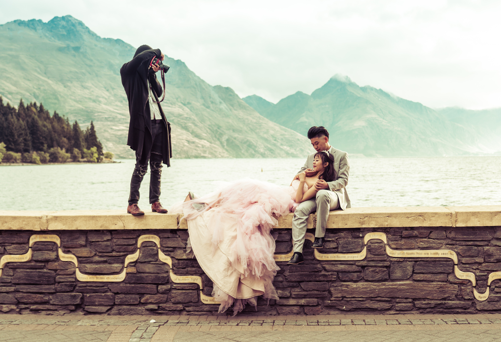 Chinese Wedding Photographs in Queenstown