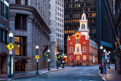 Old State House, Boston, Massachusetts, America