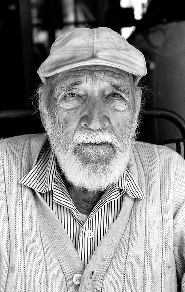 Portrait of Unknown Man on film in June 2014.   Colin Boyle
