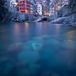 Riomaggiore at golden hour