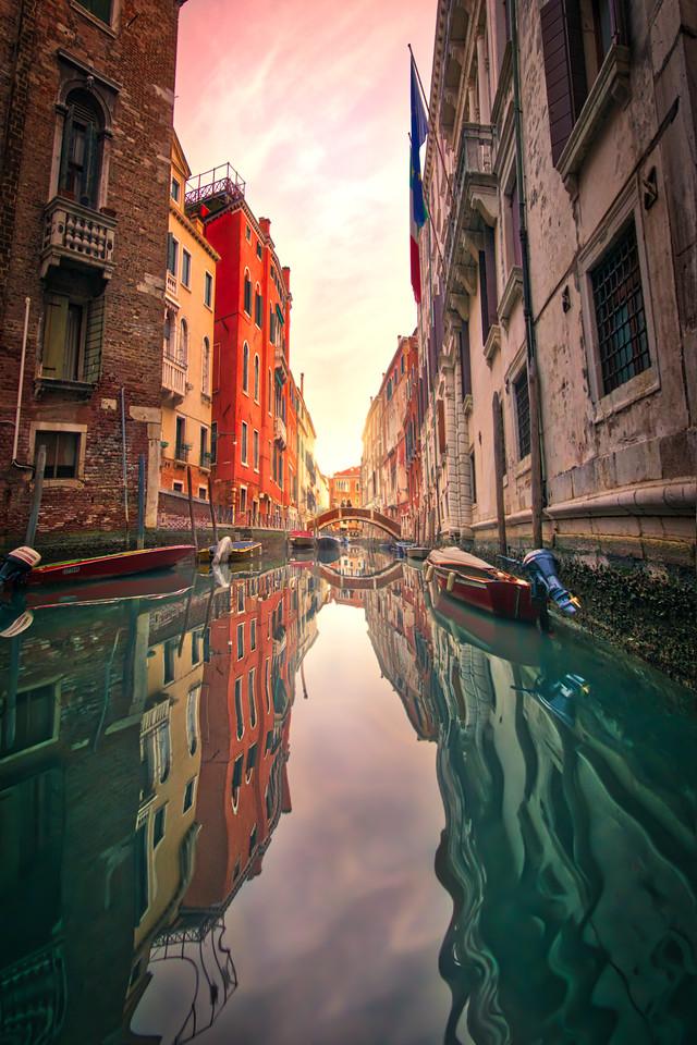 A Ride Through Venice