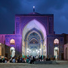 Iran, Yazd - Jame Mosque before evening prayer