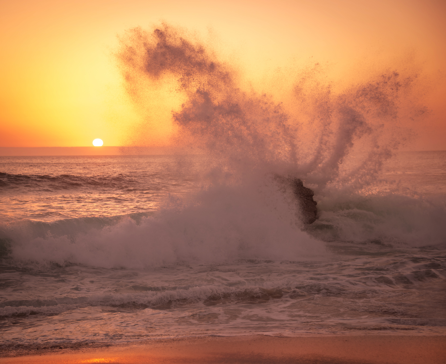 The Pink Sea Spray at Sunset and Interview with Kate Russell