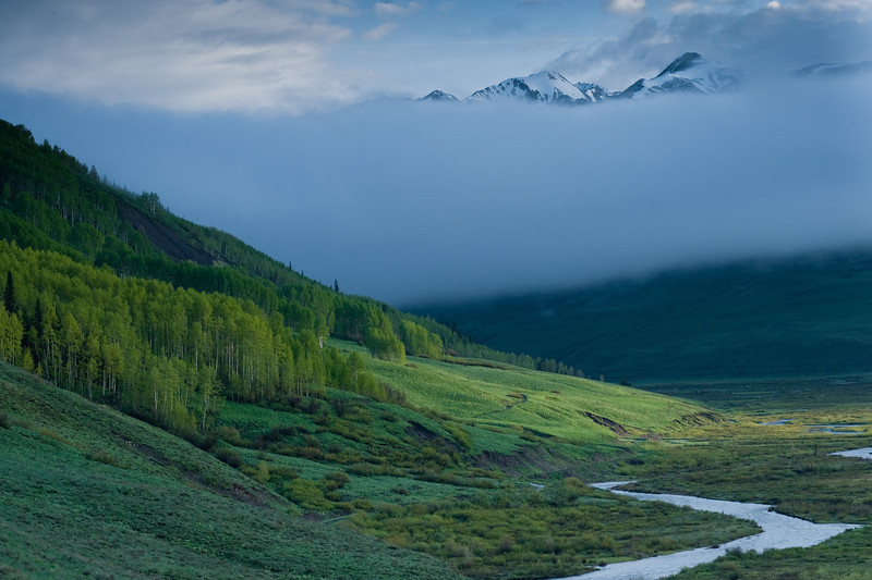 East River Valley, Crested Butte.