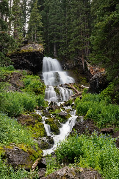Silver Basin Waterfall ~ Colorado