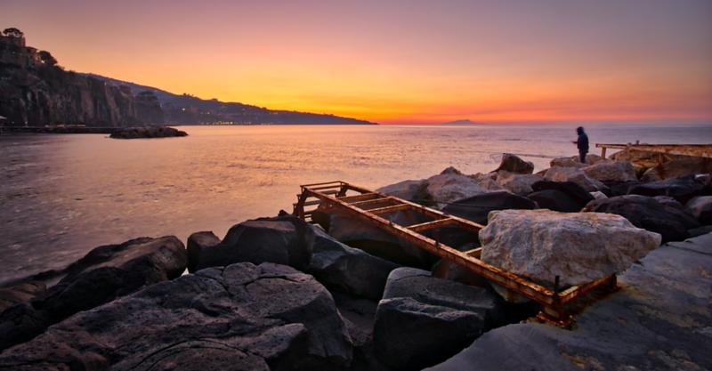 Fisherman in Sorrento