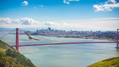 Soaring over San Francisco