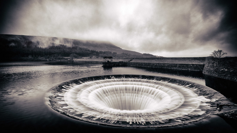 The Ladybower Plughole - Peak District National Park