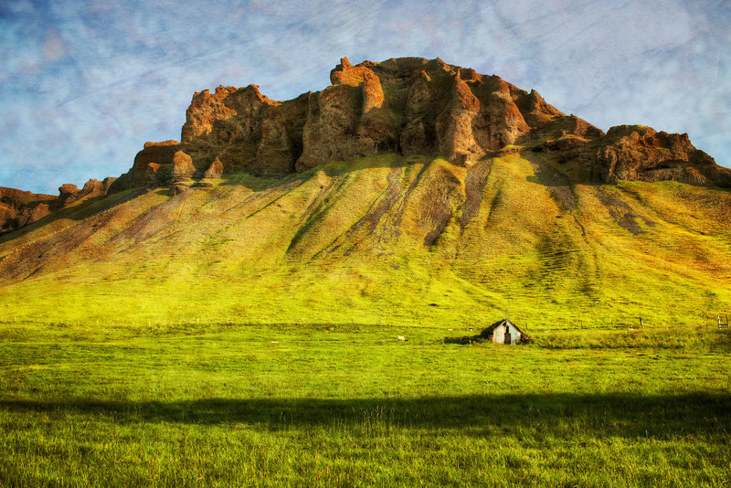 "<h2>Gentle Green Slopes to Rocky Curved Crags</h2> <br/>After you are driving around Iceland for a few weeks, you get so used to wild landscapes that it's hard to be objective.  I force myself to wake up and be objective about the matter... and then, I suddenly come to my senses and I realize that scenes like this are entirely unique!  So, that helps me to pop out of my truck and go on a short hike to get a good vantage point.  And then I get back... process it many months later... and I am happy that I took the time to recognize it was indeed a special place. <br/><br/> - Trey Ratcliff <br/><br/>Read more <a href=""http://www.stuckincustoms.com/2011/05/21/gentle-green-slopes-to-rocky-curved-crags/"">here</a> at the Stuck in Customs blog."