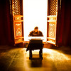 "<h2>In the Lama Temple</h2> <br/>While touring one of the many temples in Beijing a few weeks ago, we went through one of them that was filled with Lamas that were busy studying. Well, most were busy studying. Others would take an occasional break, like this one who was taking a little cat nap.<br/><br/>- Trey Ratcliff<br/><br/><a href=""http://www.stuckincustoms.com/2013/06/23/in-the-lama-temple/"" rel=""nofollow"">Click here to read the rest of this post at the Stuck in Customs blog.</a>"