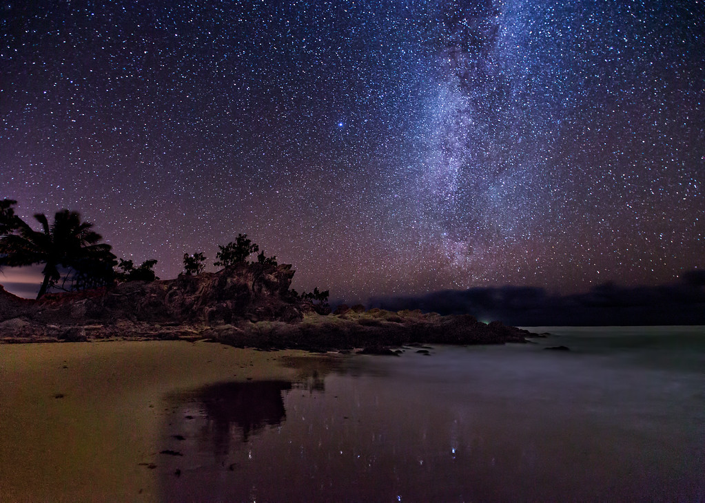 The Milky Way by the Coral Sea (3)