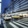 "<h2>Ginza, alive at night</h2> <br/>Rain is good.  Rain is bad.  I can't decide!<br/><br/>You have no idea... (or maybe you do !!) how hard it is to carry around two cameras, a tripod, AND an umbrella.  I already have every one of my 10 digits fully employed with handling everything.  But... an umbrella!  Well that really requires five fingers!  I can usually get by with 5 on my tripod/camera too.  I walk around with everything hooked together.  However, a problem ensues when you have to expand and retract the legs of the tripod.  That is really a two-hand operation.  So what do you do with the umbrella during this time?  The neck/shoulder pinch is right-out...  the umbrella gets caught in the wind and it is a recipe for disaster.<br/><br/>- Trey Ratcliff<br/><br/>From <a href=""http://www.stuckincustoms.com/2010/09/29/ginza-alive-at-night/"">this</a> entry at stuckincustoms.com."