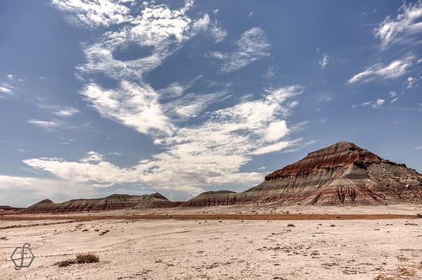Painted Desert - Tepees