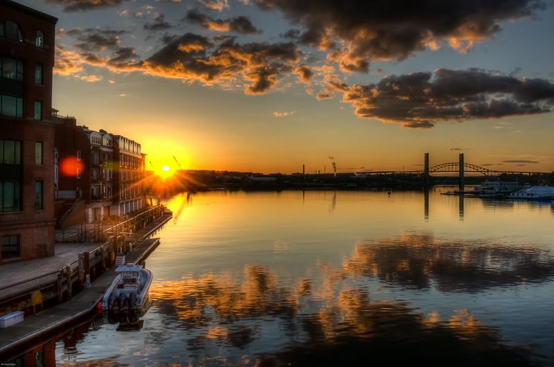 Harbor Place Sunset