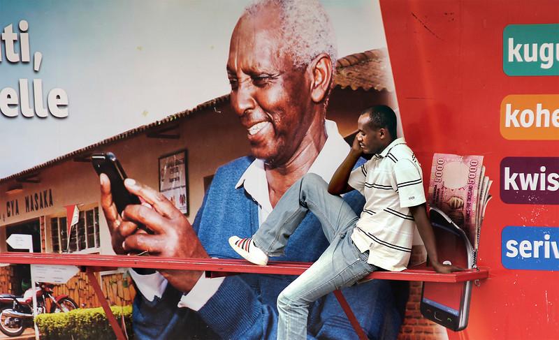 Kigali Bus stop -