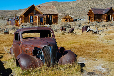 The Ghost Town of Bodie - Eastern Sierras.